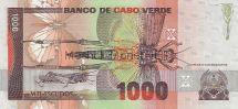 Банкнота Кабо-Верде 1000 эскудо 1989 год