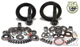 USA Standard Gear & Install Kit package for Non-Rubicon Jeep JK, 4.56 ratio