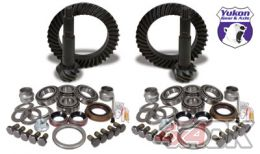 Yukon Gear & Install Kit package for Jeep JK Rubicon, 4.11 ratio