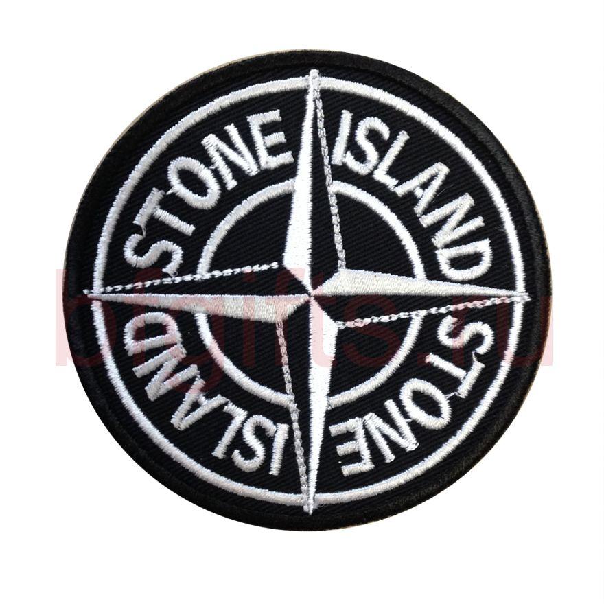 Патч болельщиков Stone island вышивка