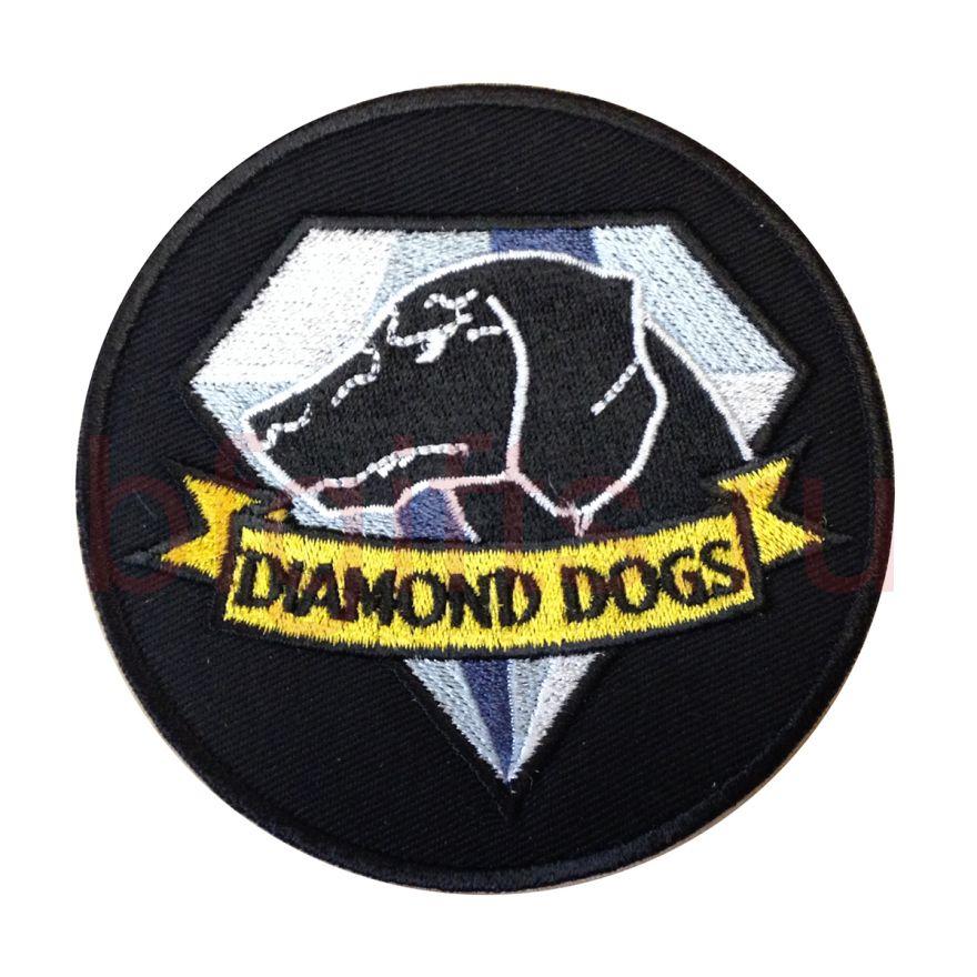 """Моральный патч """"Diamond dogs"""""""