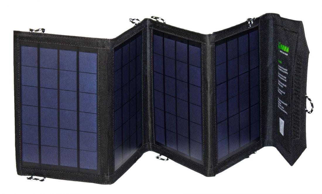 Солнечная батарея 14W / 4 панели / 2 USB-порта / 5V 2,8A