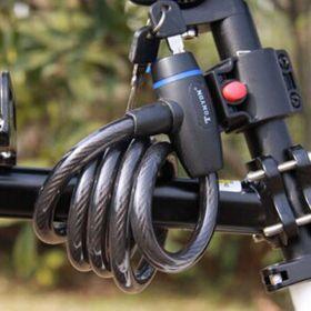 Велосипедный замок с креплением на раму 92 см