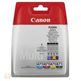 Картридж оригинальный CANON CLI-471 BK/C/M/Y MULTIPACK(тех. упак.)