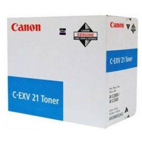 Тонер оригинальный CANON C-EXV21 Cyan