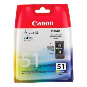 Canon Картридж оригинальный струйный CL-51 многоцветный