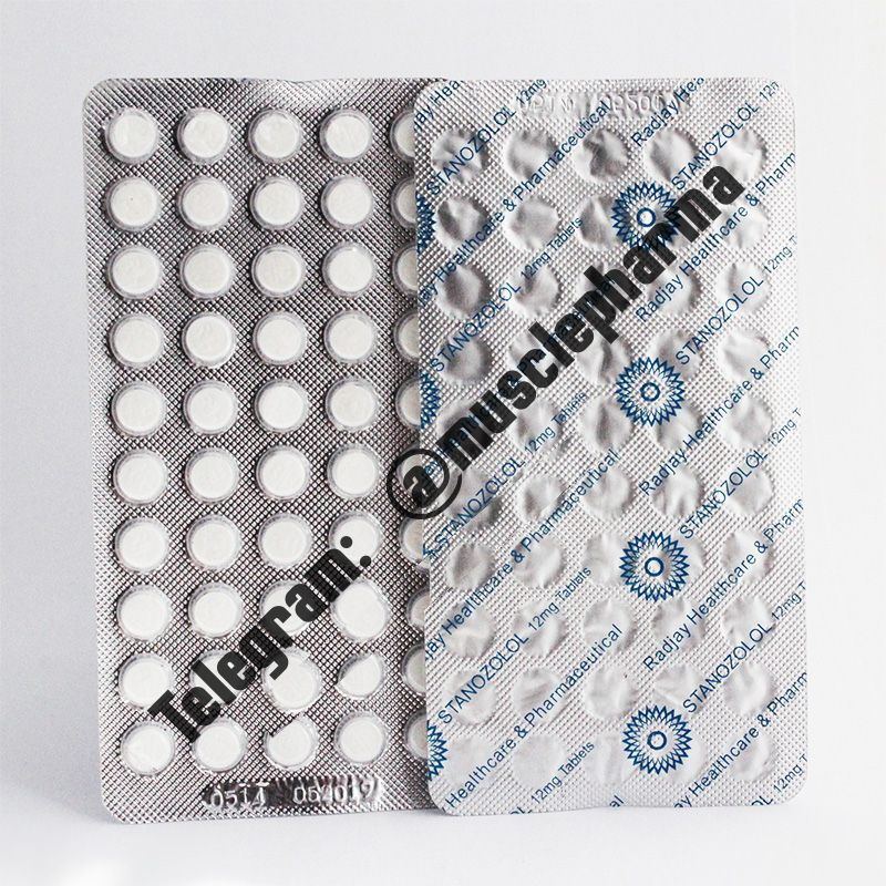 STANOZOLOL (СТАНАЗОЛОЛ). 100 таб. по 12 мг. Radjay