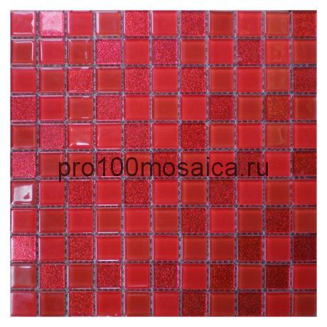 Fire. Мозаика для бассейнов 25*25 серия CRISTAL,  размер, мм: 295*295*4 (ORRO)