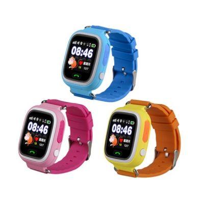 Smart часы детские с GPS GP-01 Желтые