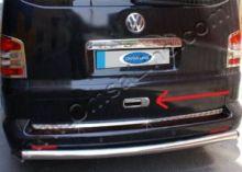 Накладка на ручку двери багажника, окрашеная в серебристый цвет, 2ч., на Multivan