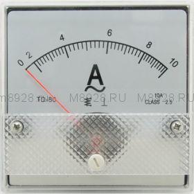 Амперметр SE-80 10A 50гц (TD-80)
