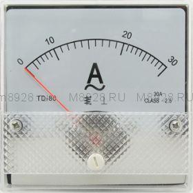 Амперметр SE-80 30A 50гц (TD-80)
