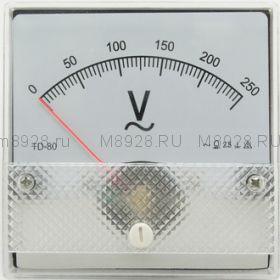 Вольтметр SE-80 250V 50гц