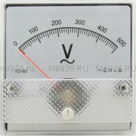 Вольтметр SE-80 500V 50гц