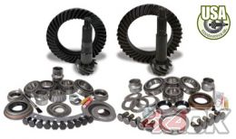 USA Standard Gear & Install Kit package for Jeep TJ with D30 front & Dana 44 rear, 4.56 ratio