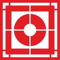 Трафарет знака Кнопка включения установок пожарной автоматики (F 10)