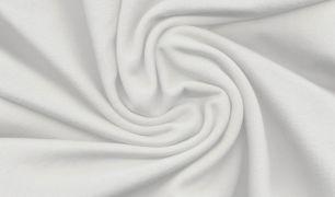 Белый футер 2-х нитка