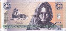 Банкнота Сомалиленд 1000 шиллингов 2006 год