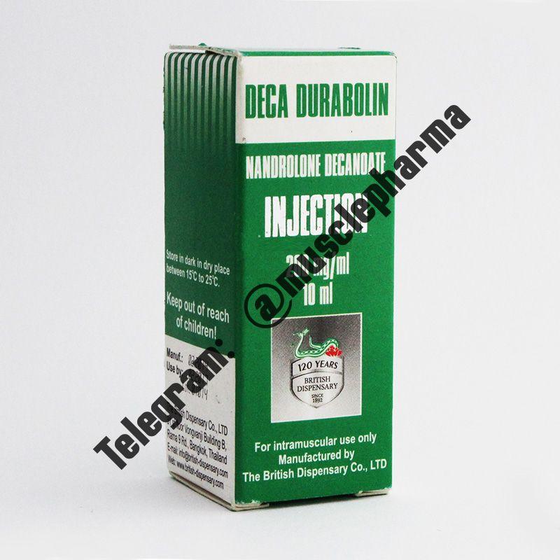 DECA DURABOLIN (БРИТИШ ДИСПЕНСЕРИ). 1 флакон * 10 мл.