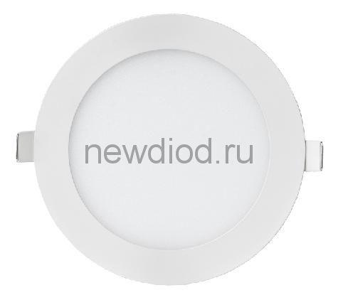 Панель светодиодная круглая RLP-eco 24Вт 160-260В 4000К 1680Лм 300/285мм белая IP40