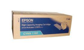 Тонер-картридж оригинальный EPSON голубой повышенной емкости для AcuLaser C2800