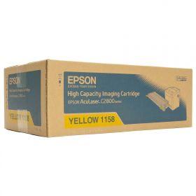 Тонер-картридж оригинальный EPSON желтый повышенной емкости для AcuLaser C2800