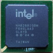 Видеочип Intel NH82801GBM  [SL8YB] для ноутбука
