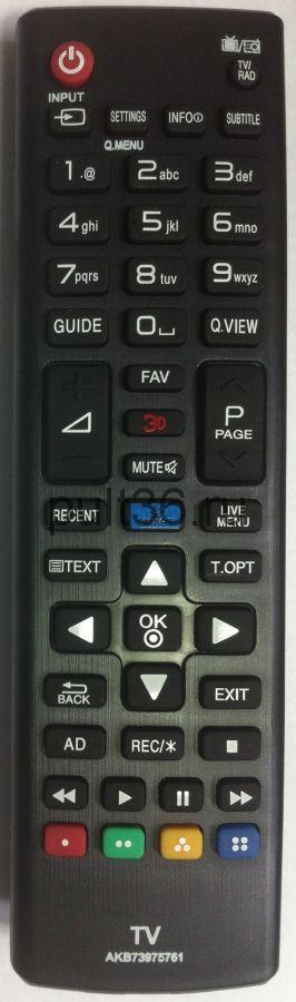 Пульт ДУ LG AKB 73975761 SMART + 3D КНР