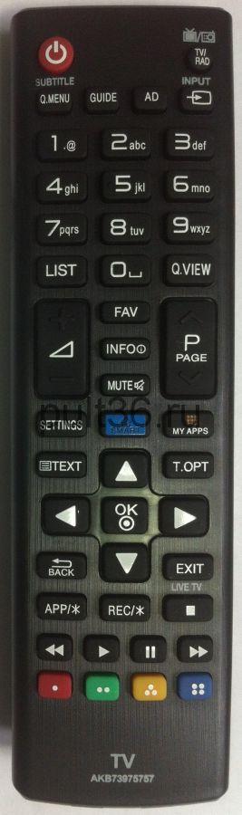 Пульт ДУ LG AKB 73975757 SMART + 3D КНР