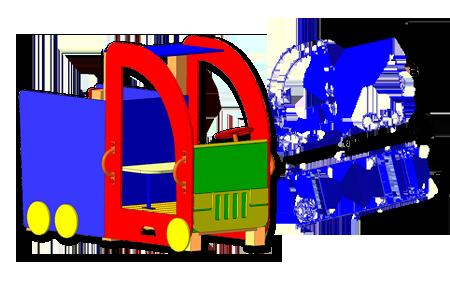 Машинка ИК1-1