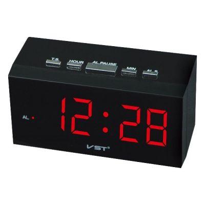 VST772-1 часы 220В крас.цифры