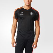 Футболка adidas Manchester United Football Club  Training Jersey чёрная