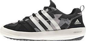 Детские кроссовки adidas Climacool Boat Lace Kids чёрные