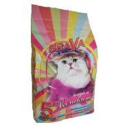 """BraVa """"Мадам Кошкина"""" Впитывающий минеральный наполнитель для длинношерстных кошек (5 л)"""