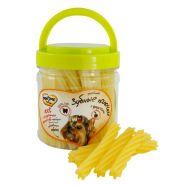 Мнямс Лакомства для собак Крученые зубные палочки с фруктами (340 г)