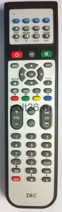 Пульт IRC JVC TVTV/VCRVCRAUX 08F