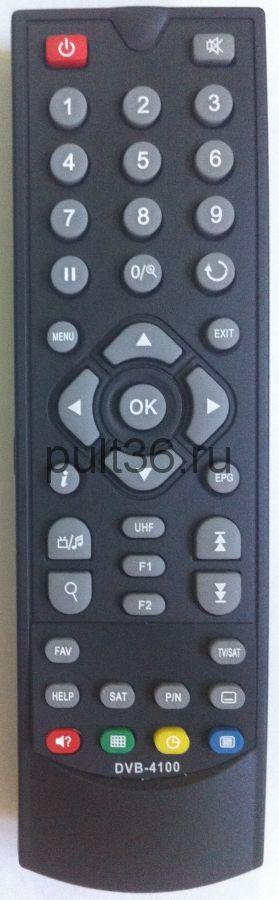 Пульт ДУ EUROSKY DVB-4100 SAT ic для спутникового ресивера
