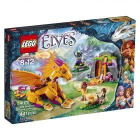 Lego Elves 41175 Лавовая пещера дракона огня#