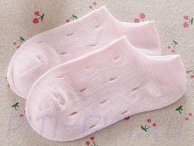 Носочки короткие розовые (17-18 см)