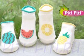Носочки фруктики - ананас