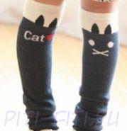 Чулки cat (черные)