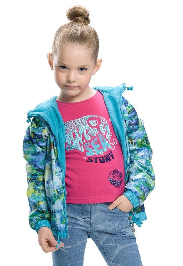 Ветровка для девочки 4-х лет