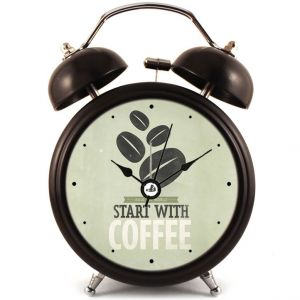 Прикольный Будильник Coffee