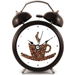 Прикольный Будильник Кофе