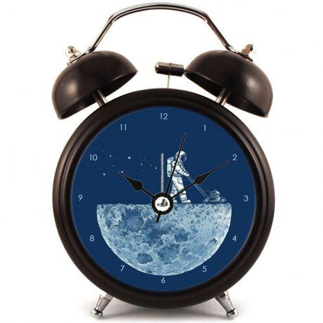 Прикольный Будильник На луне