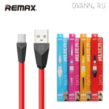 Кабель Remax RC-030i, RC-030m Aliens Data Cable для iPhone и Android
