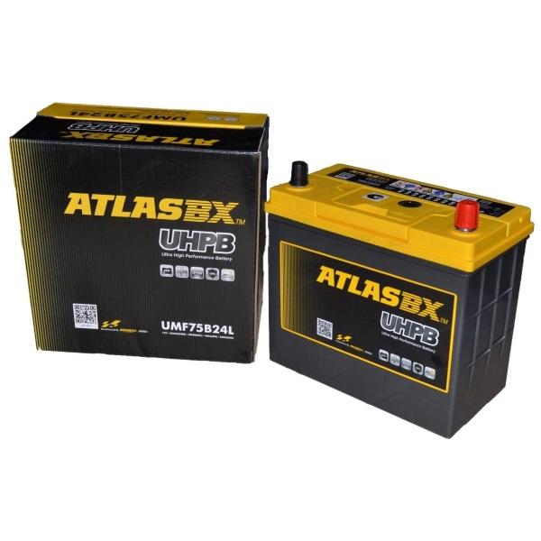 Автомобильный аккумулятор ATLAS (Атлас) UHPB UMF75B24L 55Ач о.п.