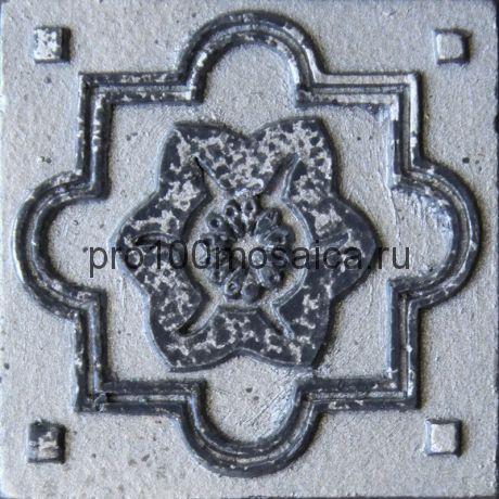 D 02/06 Декор 48*48 серия DECOS, размер, мм: 48*48*10 (Skalini)