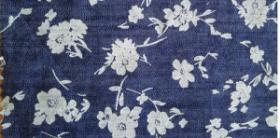 напечатанная ткань,джинсовая ткань
