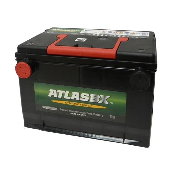 Автомобильный аккумулятор АКБ ATLAS (Атлас) 125RC MF75-630 68Ач боковые клеммы